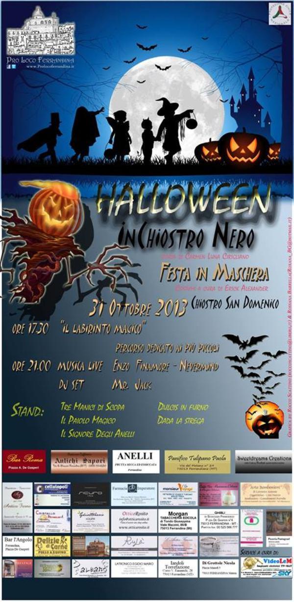 Halloween - Inchiostro Nero - 31 ottobre 2013