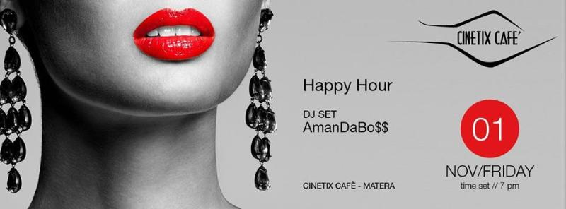 Happy Hour al Cinetix Cafè - 1 novembre 2013