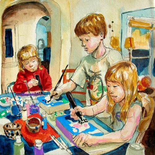 I bambini e la creatività - 14 giugno 2013