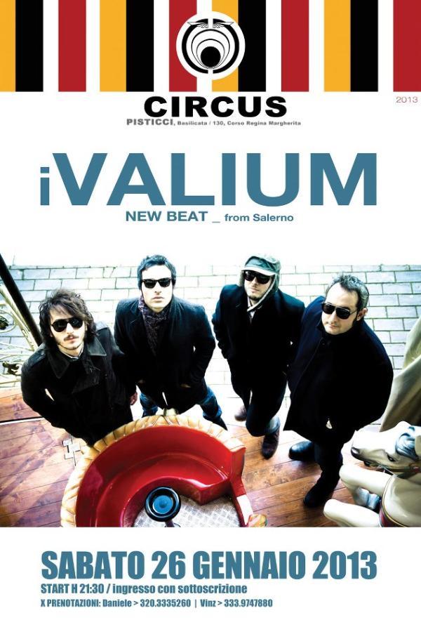 I VALIUM LIVE - 26 gennaio 2013