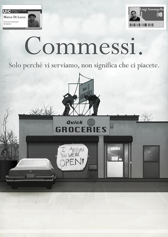 Commessi live - Luigi Scarangella & Marco Di Lecce