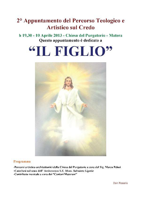 IL FIGLIO - 10 aprile 2013