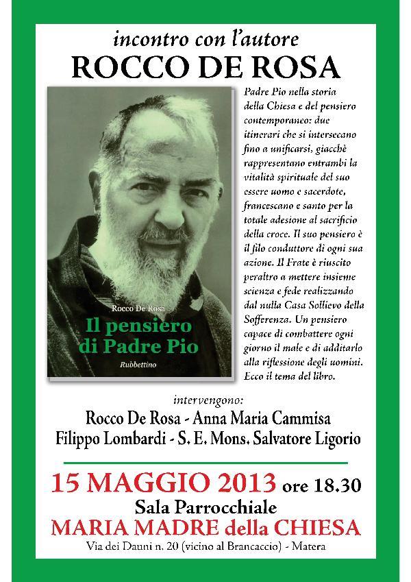 Il Pensiero di Padre Pio - 15 maggio 2013