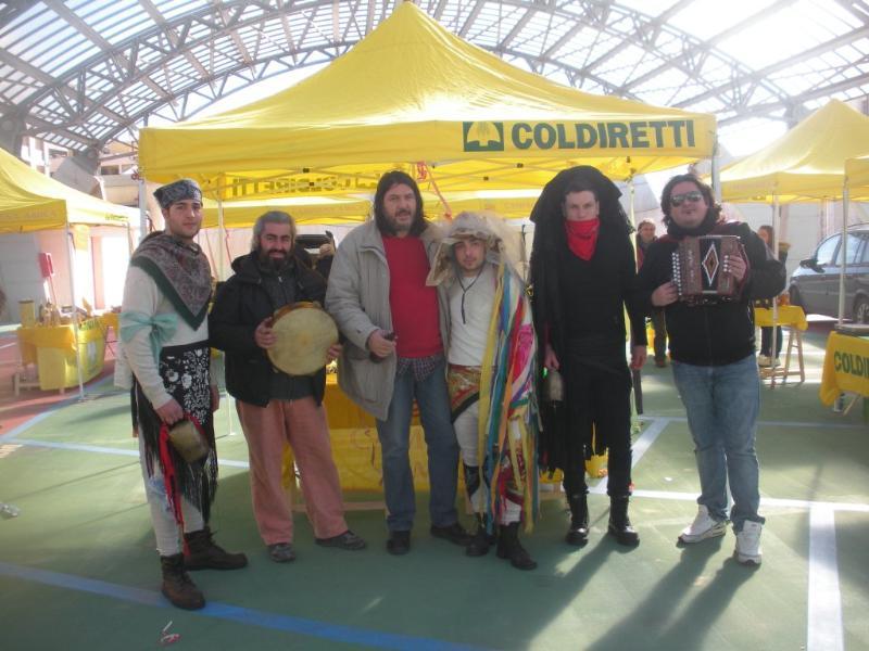 Intrattenimento di  Carnevale organizzato da Coldiretti
