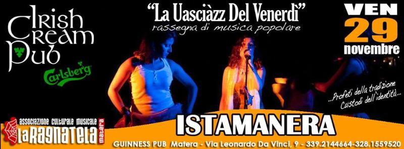 Istamanera - La uasciàzz del venerdì