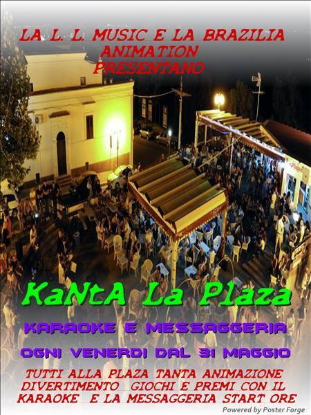 Kanta la plaza - 31 maggio 2013