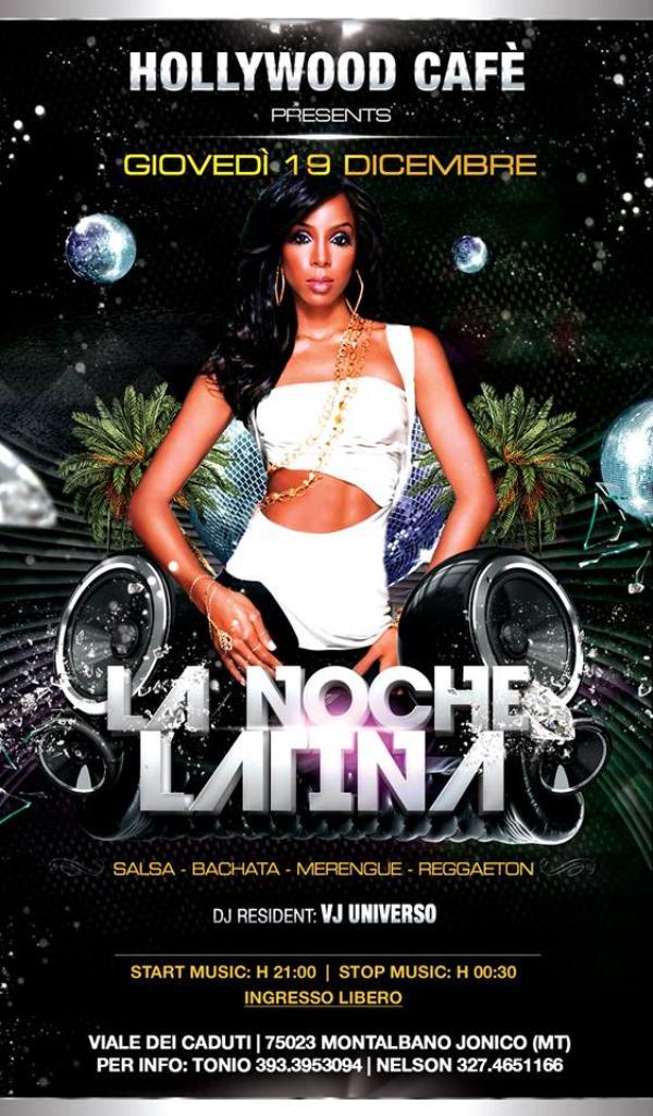 La Noche latina: Giovedì latino - 19 dicembre 2013