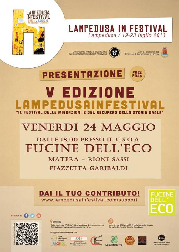 Lampedusa In Festival 2013