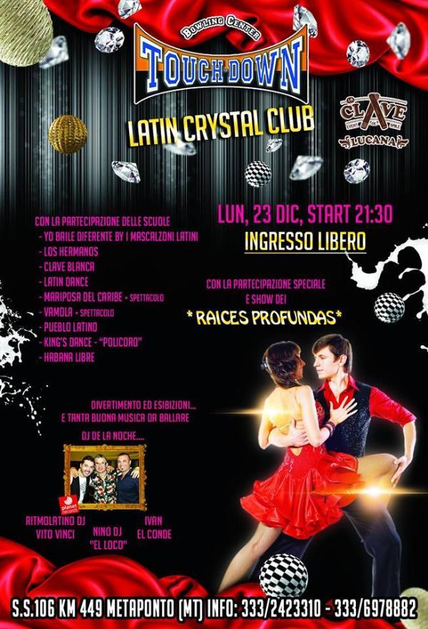 Latin Cristal Club - 23 dicembre 2013