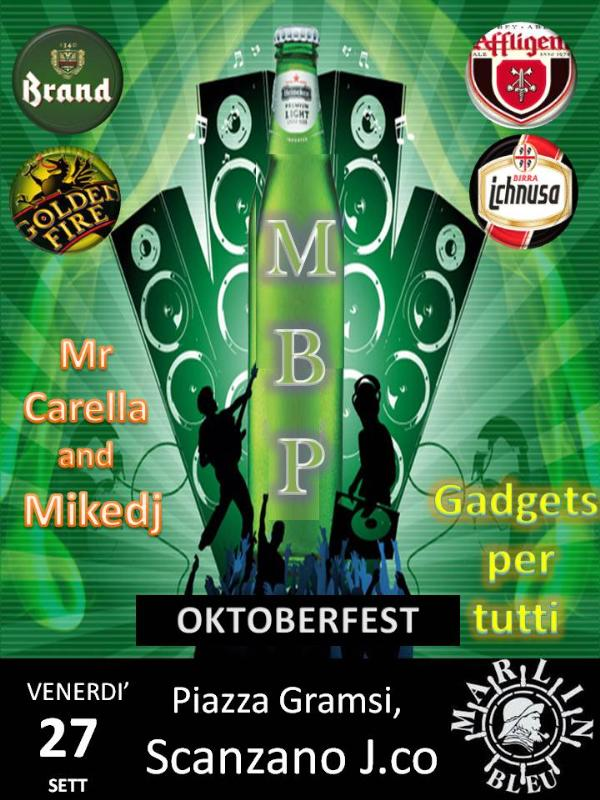 M B P Oktoberfest - 27 settembre  2013