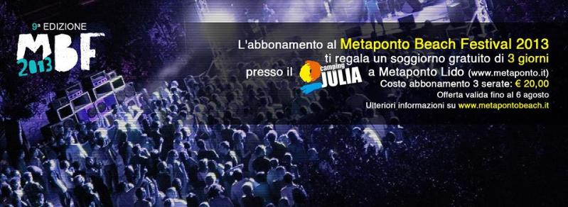 Metaponto Beach Festival 2013