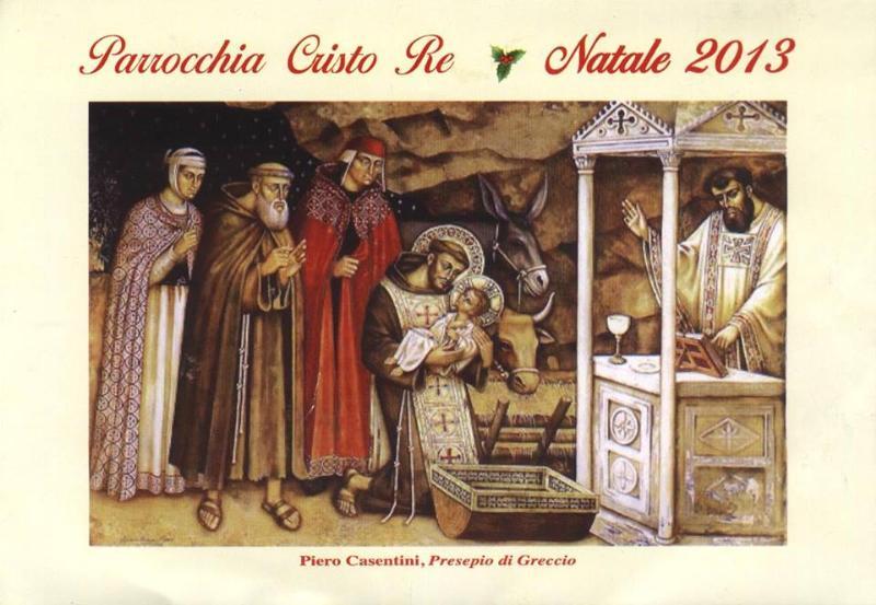 Natale 2013 alla Parrocchia Cristo Re