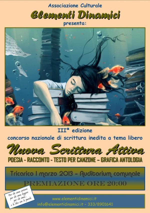 Nuova Scrittura Attiva 2013