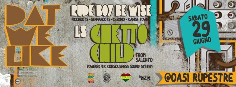 Picioroots e Gennaroots longside ghetto Child Sound System - 29 giugno 2013