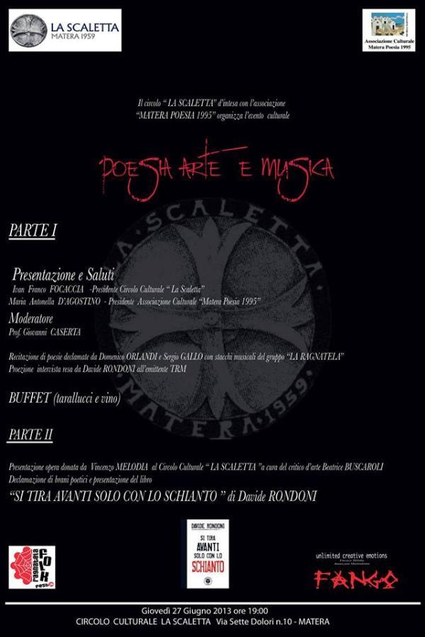 Poesia Arte e Musica - 27 giugno 2013