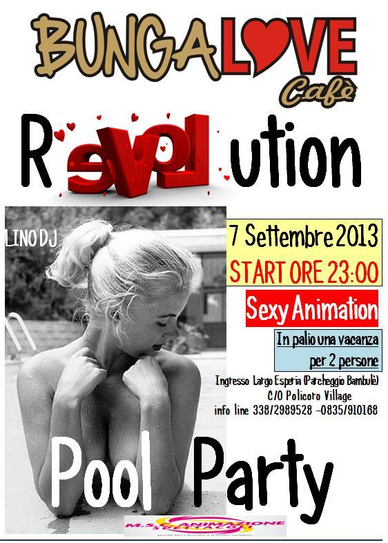 Pool Party - 7 settembre 2013