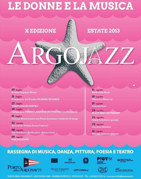 Programma ArgoJazz 2013