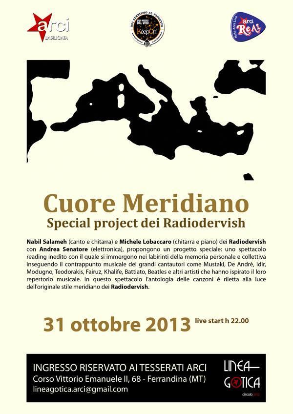 Radiodervish - Cuore Meridiano - 31 ottobre 2013