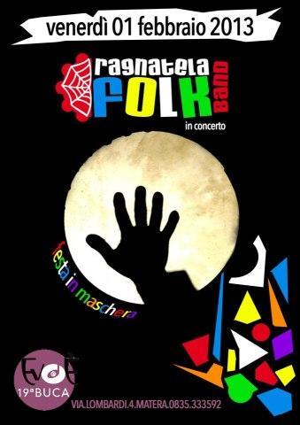 Ragnatela Folk Band live - 1 febraio 2013