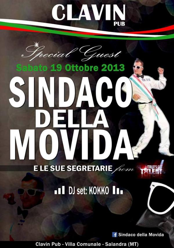 Sindaco della Movida e le sue segretarie  - 19 ottobre 2013
