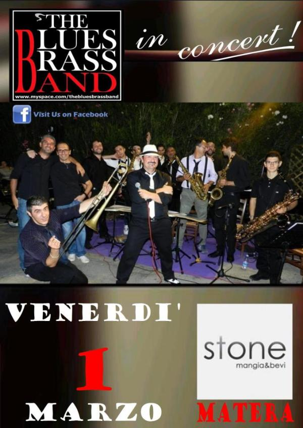 THE BLUES BRASS BAND LIVE - 1 marzo 2013