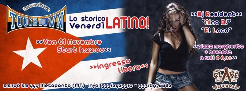 Venerdì Latino - 1 novembre 2013