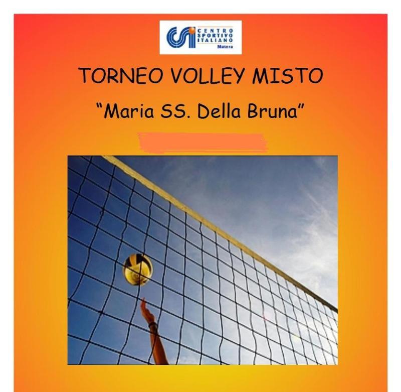 """VI Edizione Torneo Volley Misto """" Maria S.S. della Bruna """"  -"""