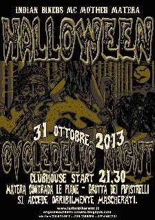 11° Halloween Cycldelic Night - 31 ottobre 2013 - Matera