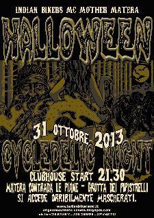 11° Halloween Cycldelic Night - 31 ottobre 2013 - Matera
