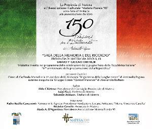 150 pensieri per l'Italiaunita - Matera