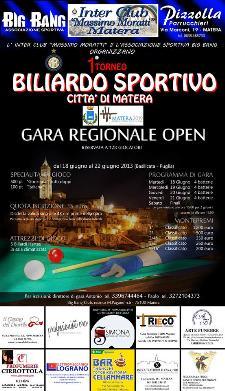 1 Torneo Biliardo Sportivo  - Matera