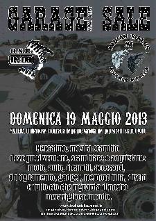 1° GARAGE SALE - 19 maggio 2013 - Matera