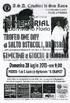 1° Memorial Don Mario Florio  - Matera