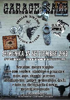 2° Garage Sale - 15 settembre 2013 - Matera