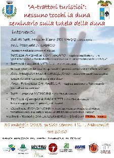 A-trattori turistici: nessuno tocchi la duna - 30 maggio 2013 - Matera