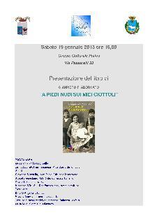 A PIEDI NUDI SUI MIEI CIOTTOLI - 19 gennaio 2013 - Matera