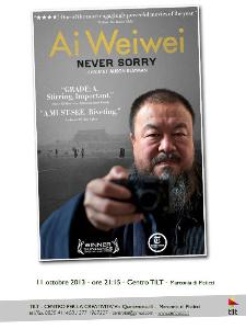 Ai Weiwei: Never Sorry - 11 ottobre 2013 - Matera