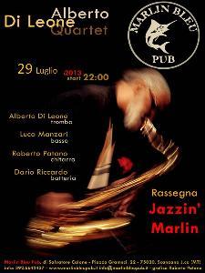 Alberto Di Leone Quartet - 29 luglio 2013 - Matera