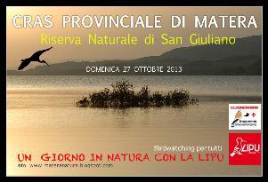 Alla scoperta della Natura nella Riserva Regionale di San Giuliano - 27 ottobre 2013 - Matera