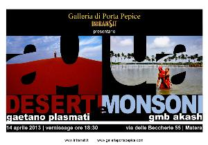 Aqua - Deserti e Monsoni  - Matera