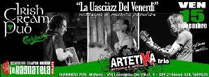 Artetika Trio - La uasciàzz del venerdì - 15 novembre 2013 - Matera