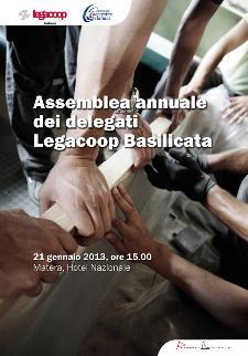 Assemblea annuale dei delegati Legacoop Basilicata - 21 gennaio 2013 - Matera