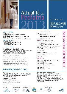 Attualità in pediatria 2013 - 5 ottobre 2013 - Matera