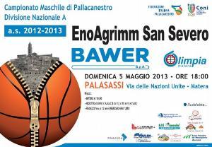 Bawer Matera vs San Severo - 5 maggio 2013 - Matera