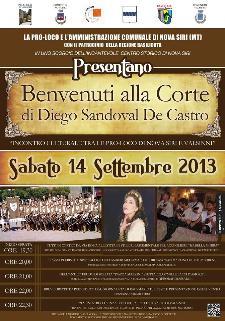 Benvenuti alla corte di Diego Sandoval De Castro  - Matera
