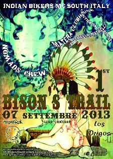 """""""Bison's Trail"""" - 7 settembre 2013 - Matera"""