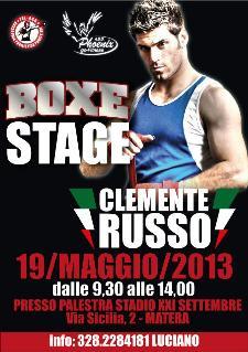 Boxe Stage con Clemente Russo - 19 maggio 2013 - Matera