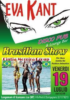 Brasilian Show Party - 19 luglio 2013 - Matera