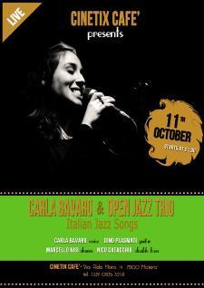 Carla Bavaro & Open Jazz Trio - 11 ottobre 2013 - Matera