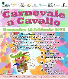 Carnevale a Cavallo 2013 - 10 febbraio 2013 - Matera